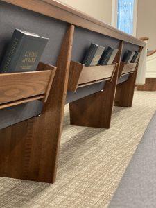 Auditorium - Brand new hymnals